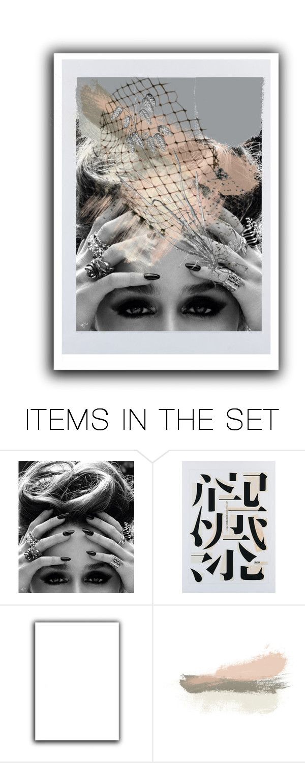 """Geen titel #31534"" by lizmuller ❤ liked on Polyvore featuring art"