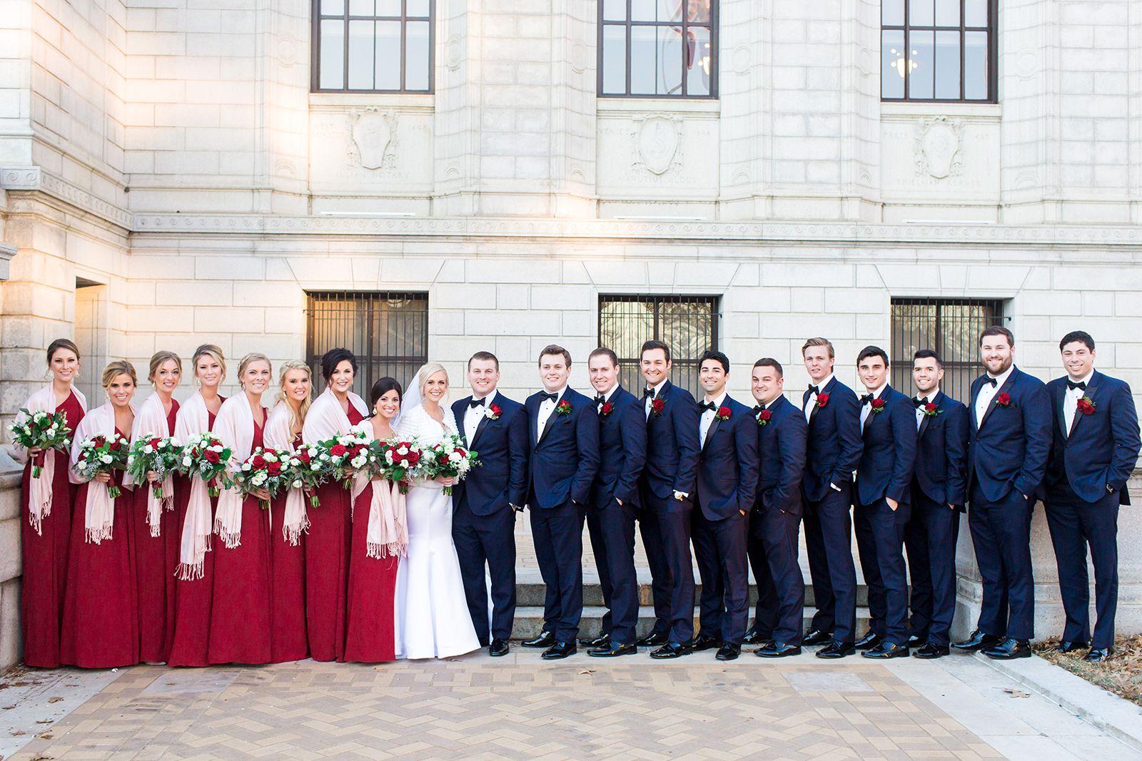 Laura Ann Miller Caramel Room Wedding St Louis Mo Wedding Portraits Bride And Groom Photo Floral Arrangement Winter Wedd Wedding Wedding Gowns Wedding Vendors