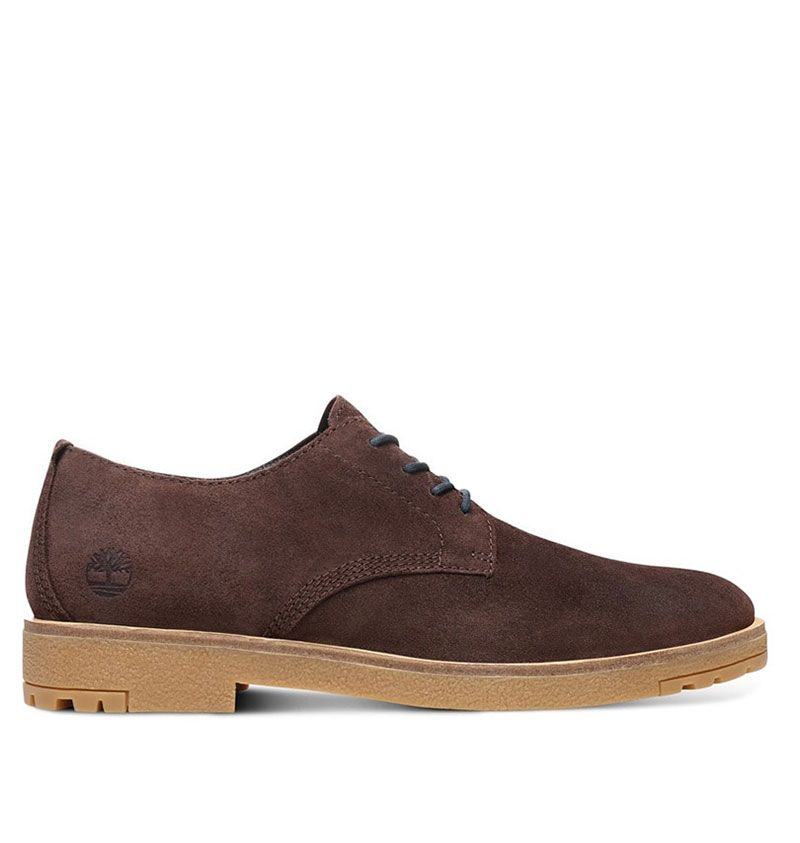 chaussure timberland homme basse marron