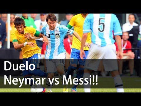 Neymar 0 x 6 Messi -  Maior clássico da América do Sul