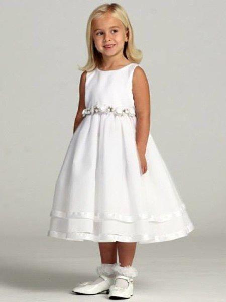 Шьем нарядное платье для девочки / Рукоделие