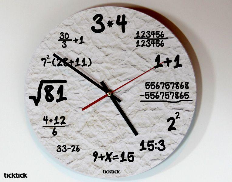 Uhren ticktick design wanduhr nerd ein designerst ck von claus peter 2 bei dawanda - Coole wanduhren ...