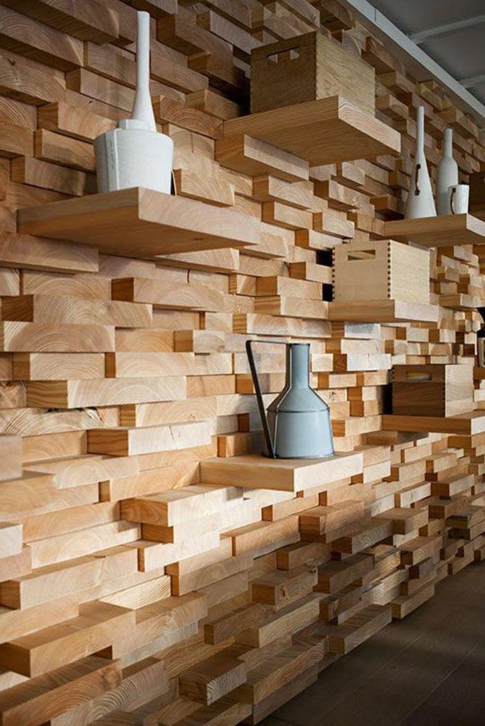 63 Wandpaneele Holz Die Den Raum Ganz Individuell Erscheinen Lassen