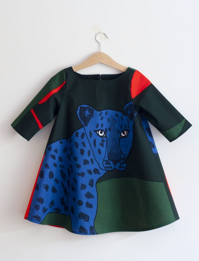 UKKONOOA: Gepardimekko / Cheetah dress