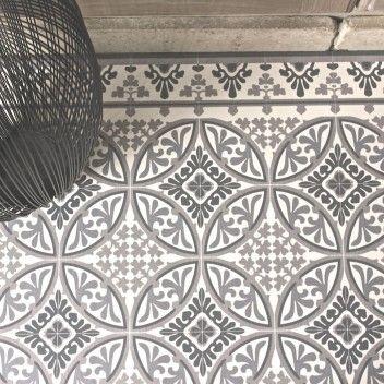 tapis beija flor eclectic e4 vinyle carreaux de ciment carrelage de ciment et ciment. Black Bedroom Furniture Sets. Home Design Ideas