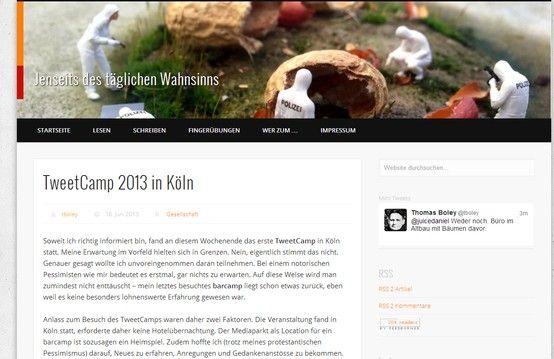"""""""TweetCamp 2013 in Köln"""" - Thomas Boley #tck13"""