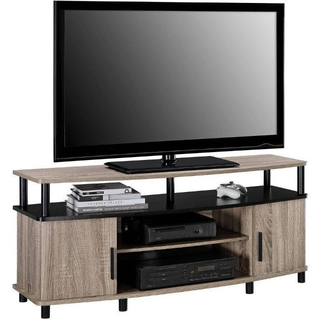 Flat Screen Tv Stand Wood Cabinet Console Home Entertainment Av Media Center Oak Altrahomeentertainmentcenters