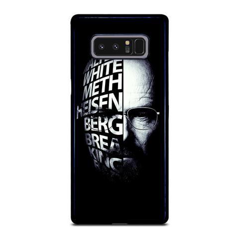 BREAKING BAD HEISENBERG Samsung Galaxy Note 8 Case - Casefine