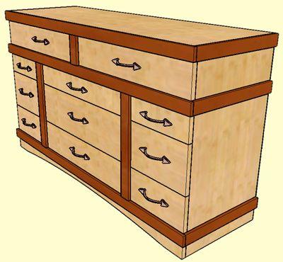 Delightful Instructions For Dollhouse Dresser. Dresser PlansMiniature  FurnitureDollhouse FurnitureBedroom ...