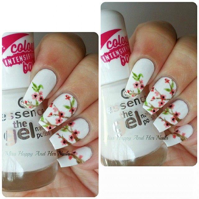 watercolor blossom @essence_cosmetics the gel nail polish - wild ...