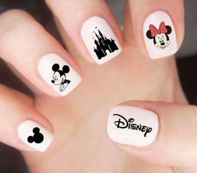 Uñas de Mickey 2017 ¡Diseños Bellos!