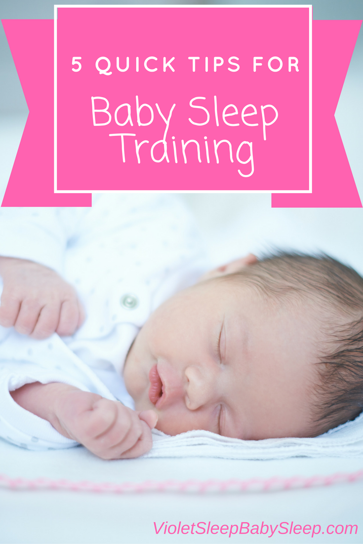 5 easy tips to help your baby sleep better.