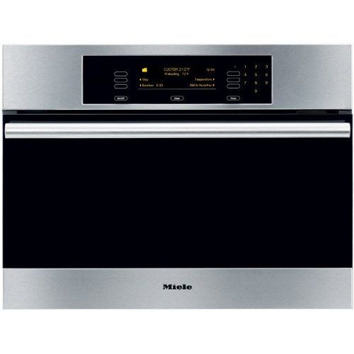 Amazon.com: Miele : DG4082SS 24 Steam Oven with Convection Steam Cooking - Clean Touch Steel: Appliances