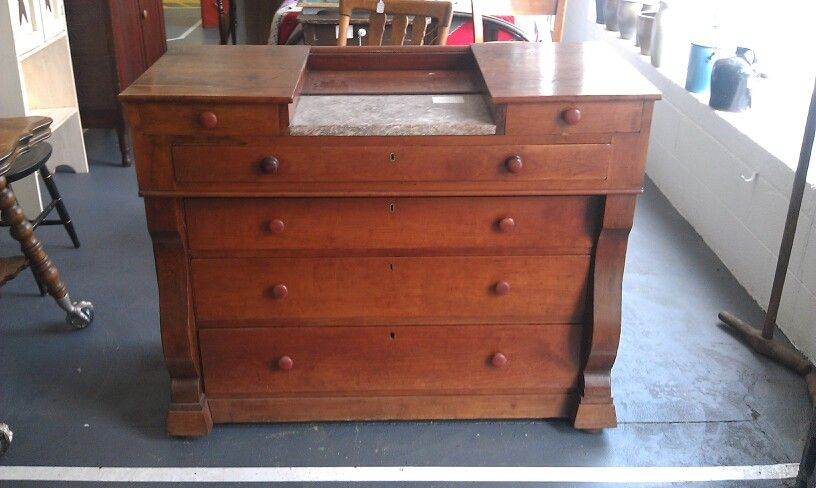 Nice piece of late 1800's East Tennessee Furniture.  Made in Hawkins County. SOLD