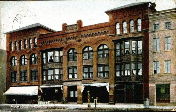 Old Picture Of The Palmer House In Herkimer Ny Palmer House House Styles Beautiful World