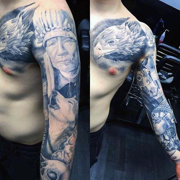 75 Nice Tattoos For Men Masculine Ink Design Ideas Native