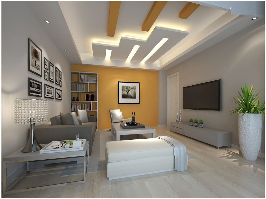 Modern living room ceiling - Pop Design Latest False Ceiling Modern Living Room