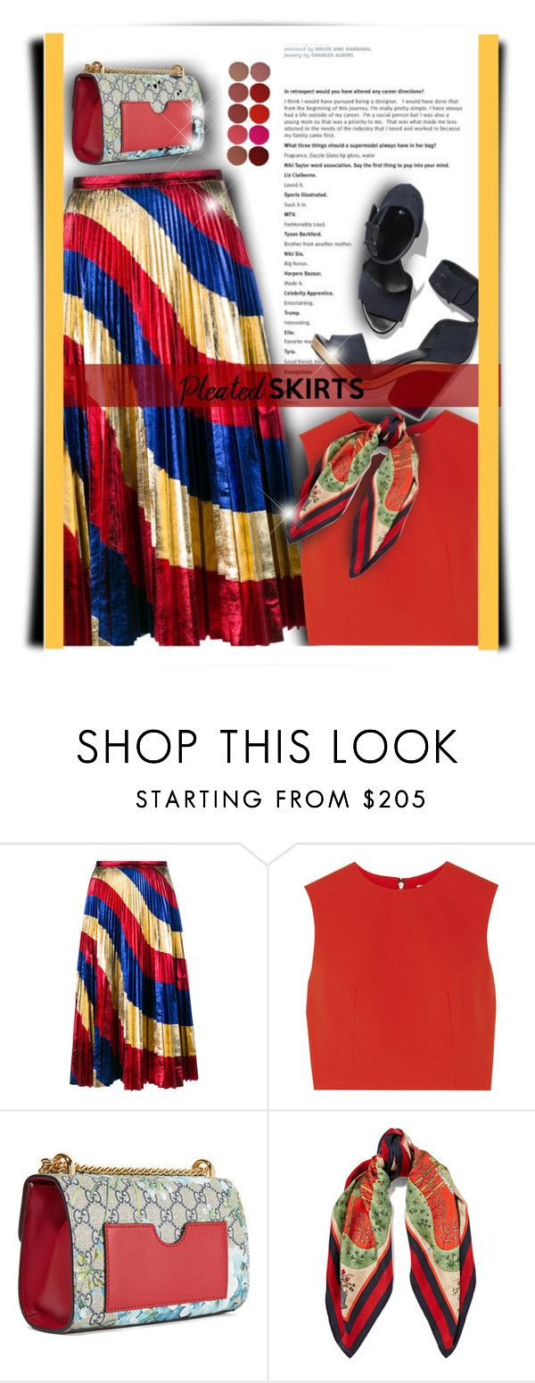 """""""...."""" by bliznec-anna ❤ liked on Polyvore featuring Gucci, Alice + Olivia and Charlotte Tilbury"""