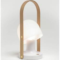 Led-tisch-strahler FollowMe Marset weiß, Designer Inma Bermúdez, 29x0x0 cm Marset