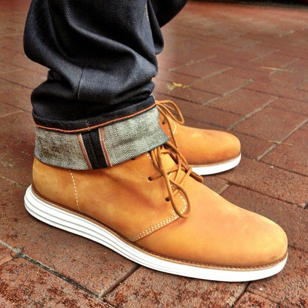 Cole Haan Lunargrand Chukka by @mryumingwu · Cole Haan BootsCole Haan Mens  ShoesCasual ...