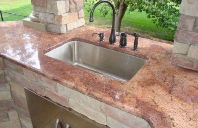 Kitchen Countertops Mn Outdoor Kitchen Sink Backyard Kitchen Outdoor Kitchen Bars