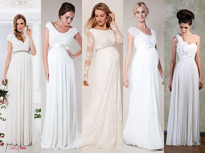 Vestidos de novia para embarazadas | Wedding, Wedding dress and Weddings