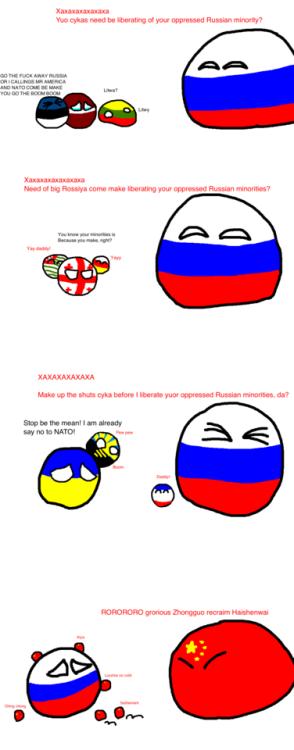 Cool A taste of your own medicine via reddit | Country balls