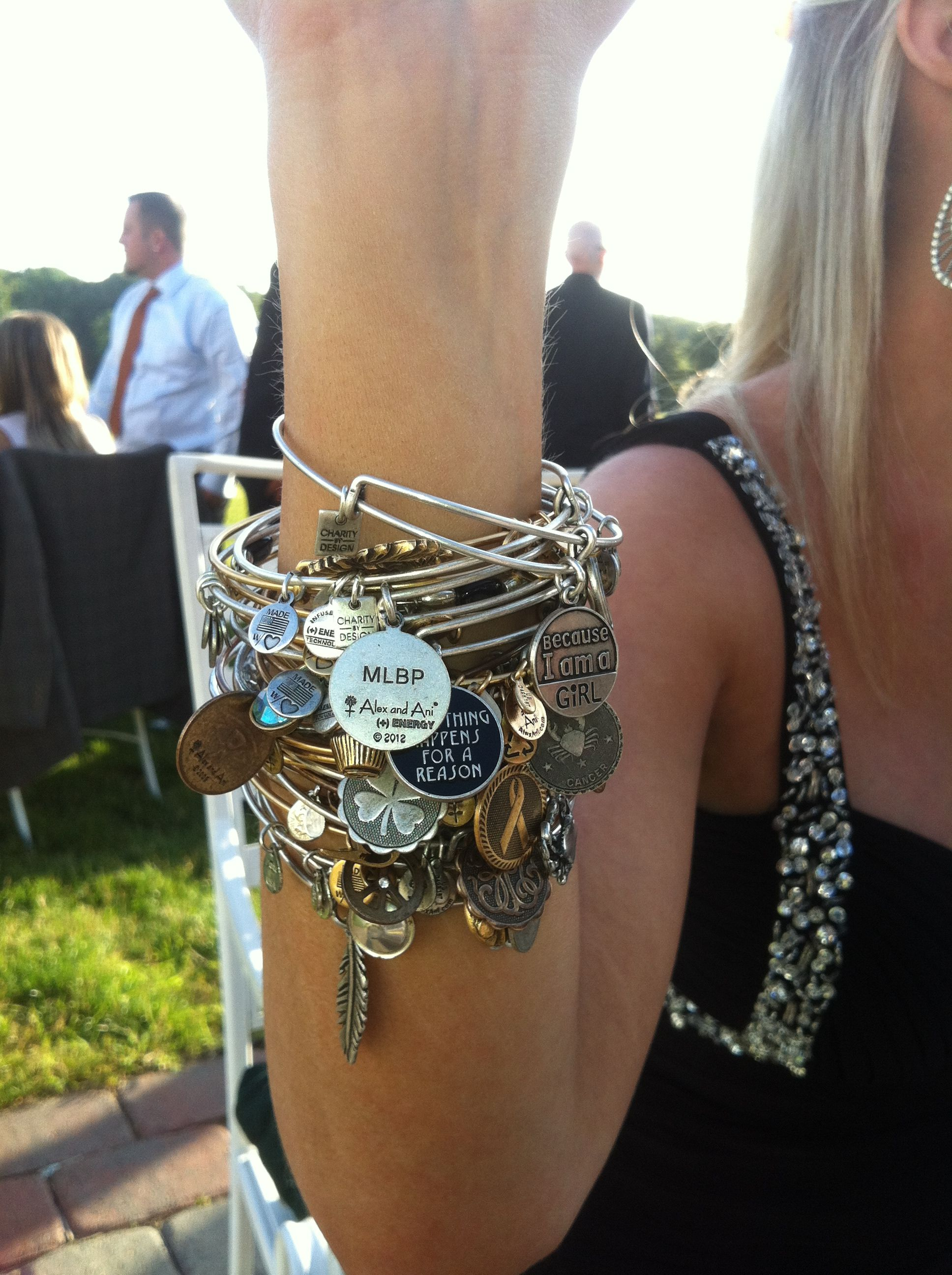 Love Alex and Ani bangles