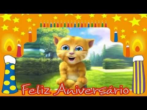 Parabéns pra você !  Feliz Aniversário    Video mensagem de aniversário  Original - YouTube