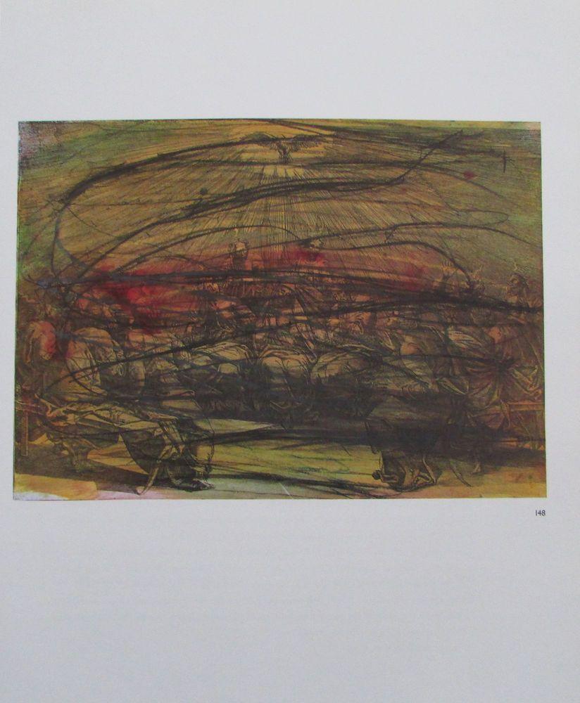 Kunstdrucke Moderne Kunst arnulf rainer das pfingstwunder übermalung kunstdruck moderne kunst