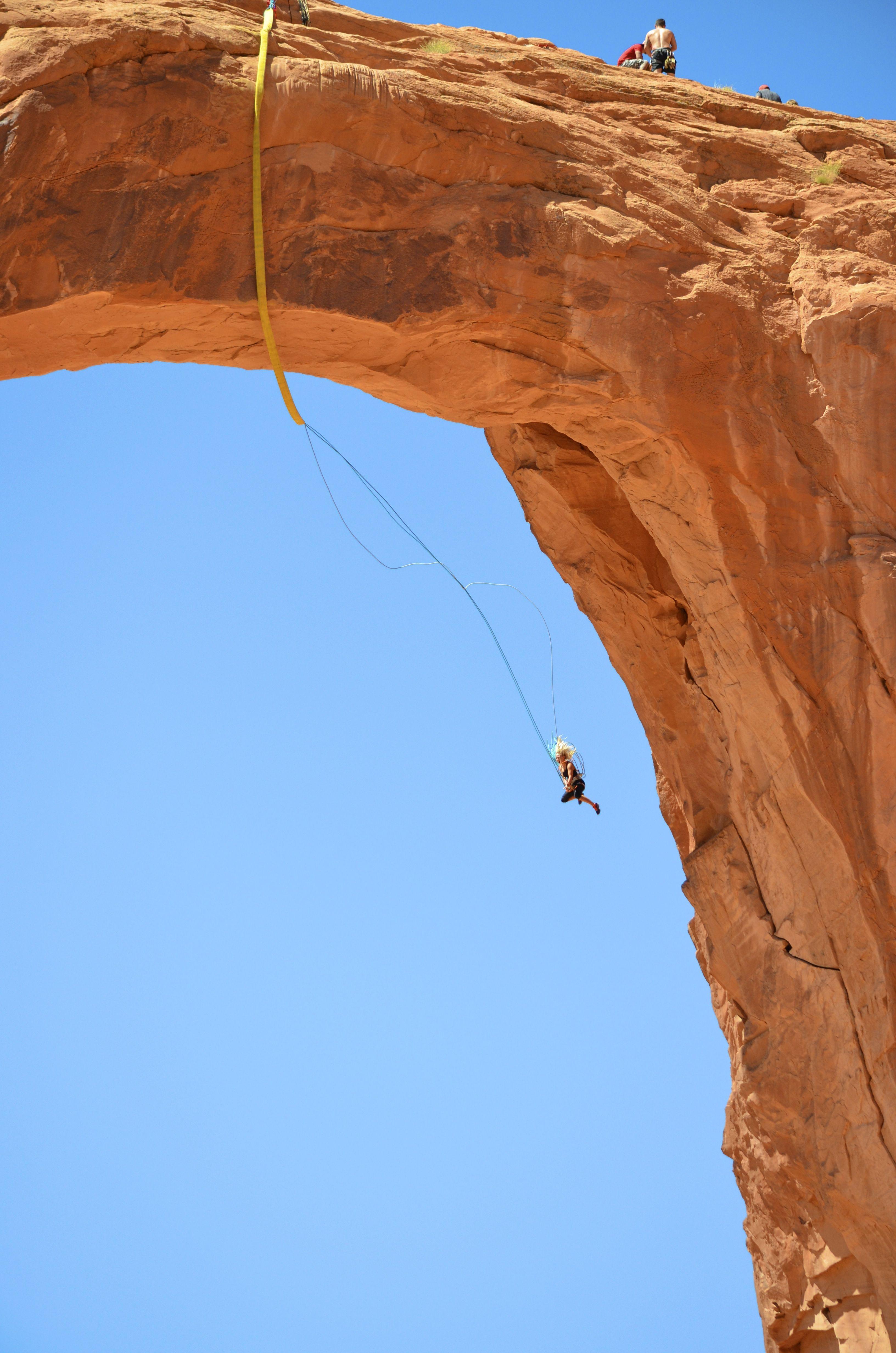 Corona Arch Swing In Moab Ut Photo By Steven Hatch
