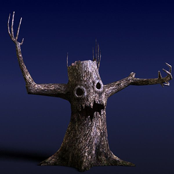 Scary tree google search scary trees pinterest for Creepy trees for halloween
