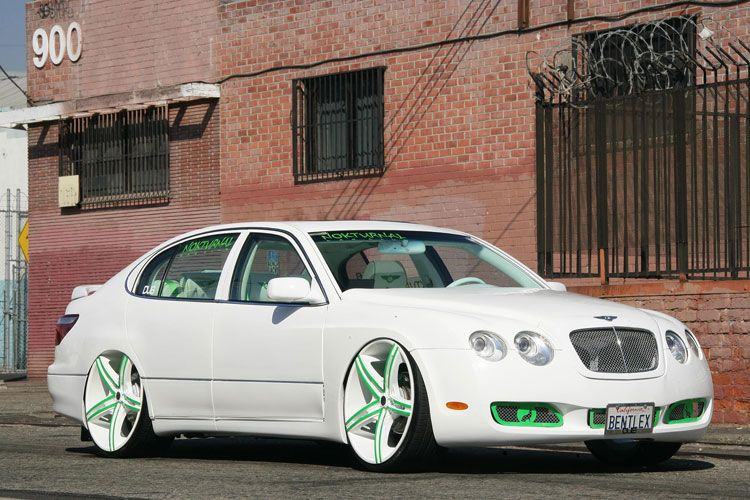 Modified Lexus GS400 With Bentley Front End is a Winning