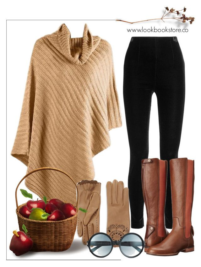 """""""Apple Picking"""" by lookbookstore ❤ liked on Polyvore featuring Balmain, Ariat, Burberry and Tom Ford"""