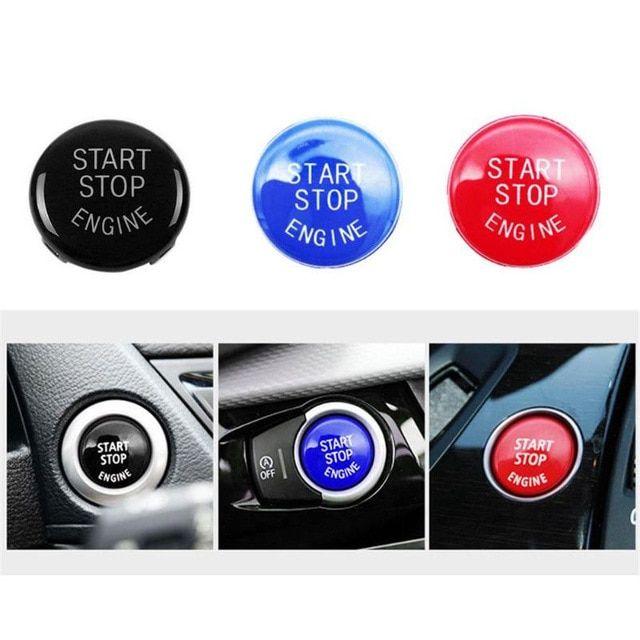 Start Stop Engine Switch Button Cover For BMW E90 E91 E92