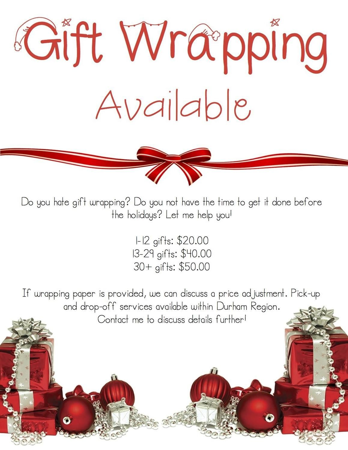 Best Gift Wrapping Services For Sale In Scarborough Ontario For 2019 Gift Wrapping Services Gift Wrapping Inspiration Creative Gift Wrapping