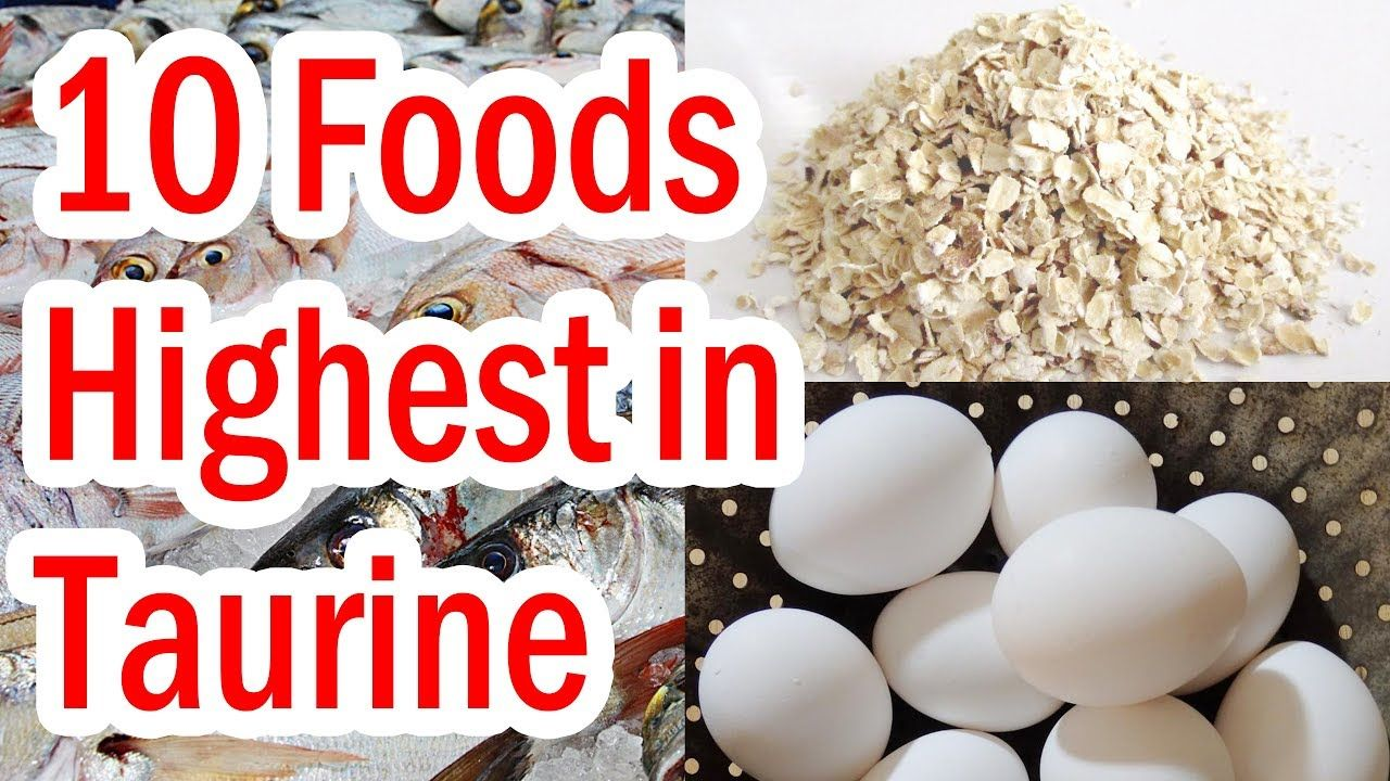 how to get taurine in diet