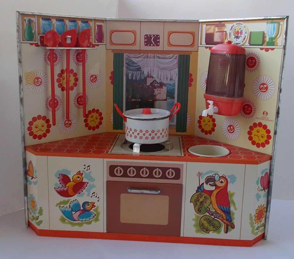 blechk che puppenk che ca 1970 miniature stoves. Black Bedroom Furniture Sets. Home Design Ideas