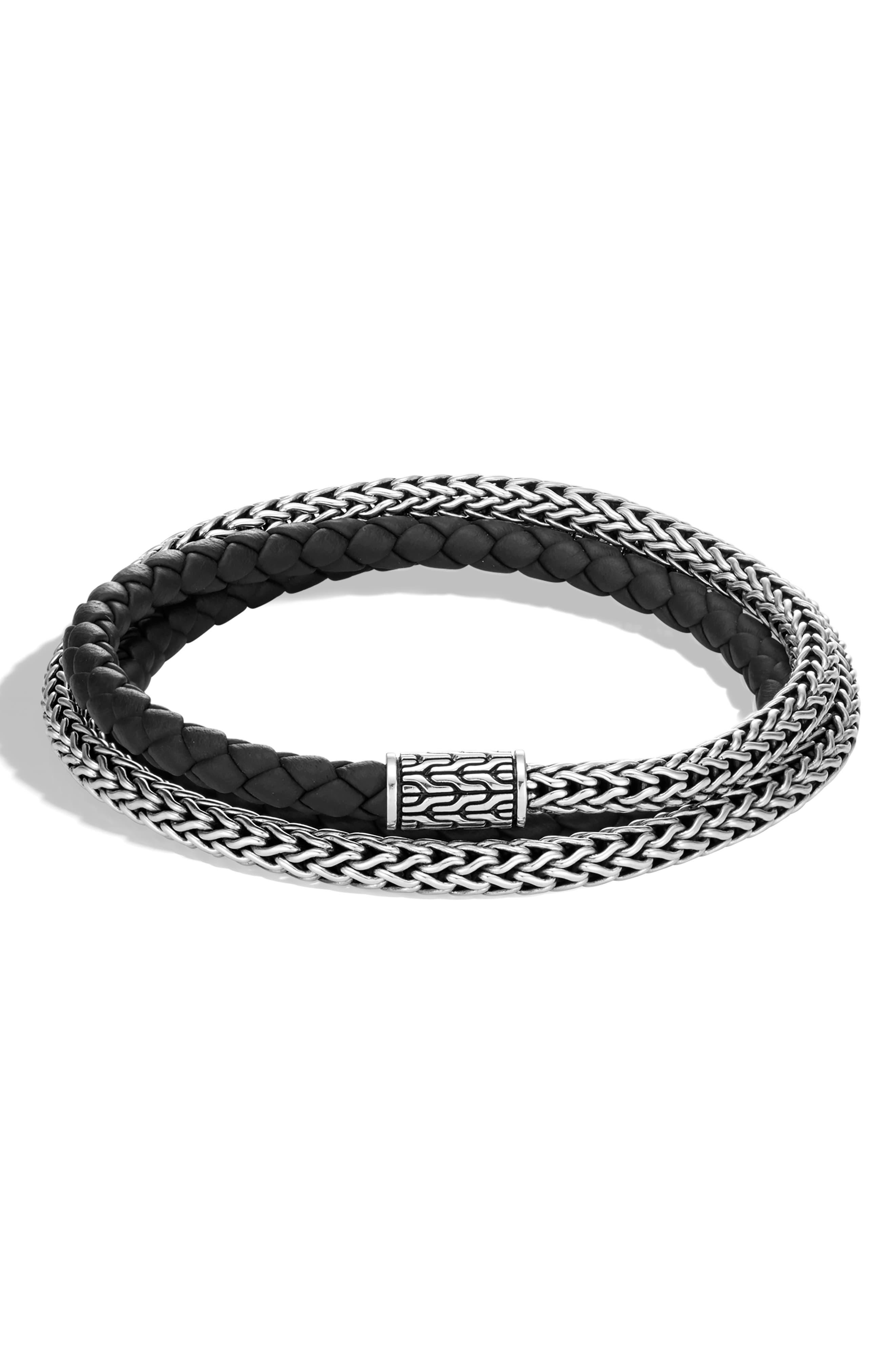 John Hardy Men S Classic Chain Double Wrap Bracelet Bracelets John Hardy Bracelets For Men