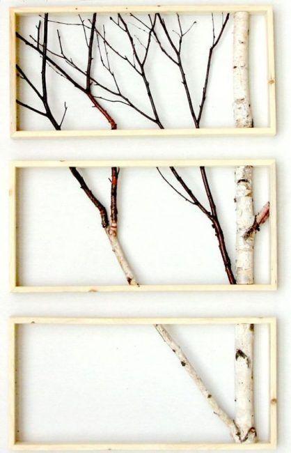 Decoración con troncos de madera   Pinterest   Troncos de madera ...