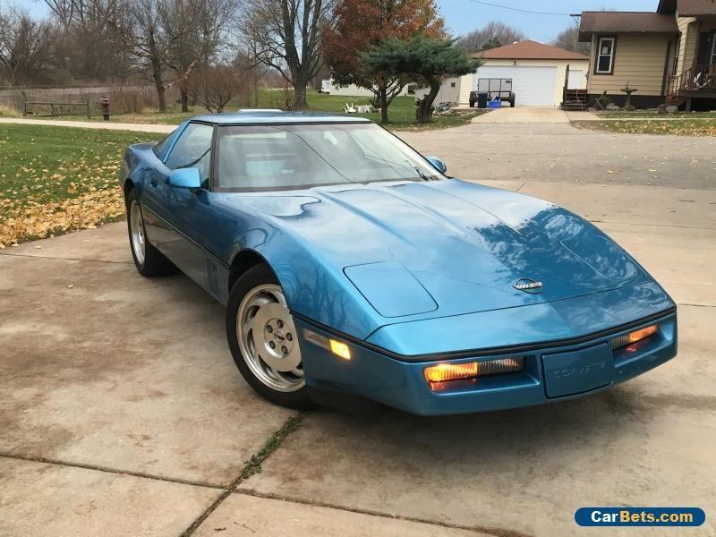1987 Chevrolet Corvette Base Hatchback 2 Door Chevrolet Corvette Forsale Unitedstates Chevrolet Corvette Corvette Corvette C4
