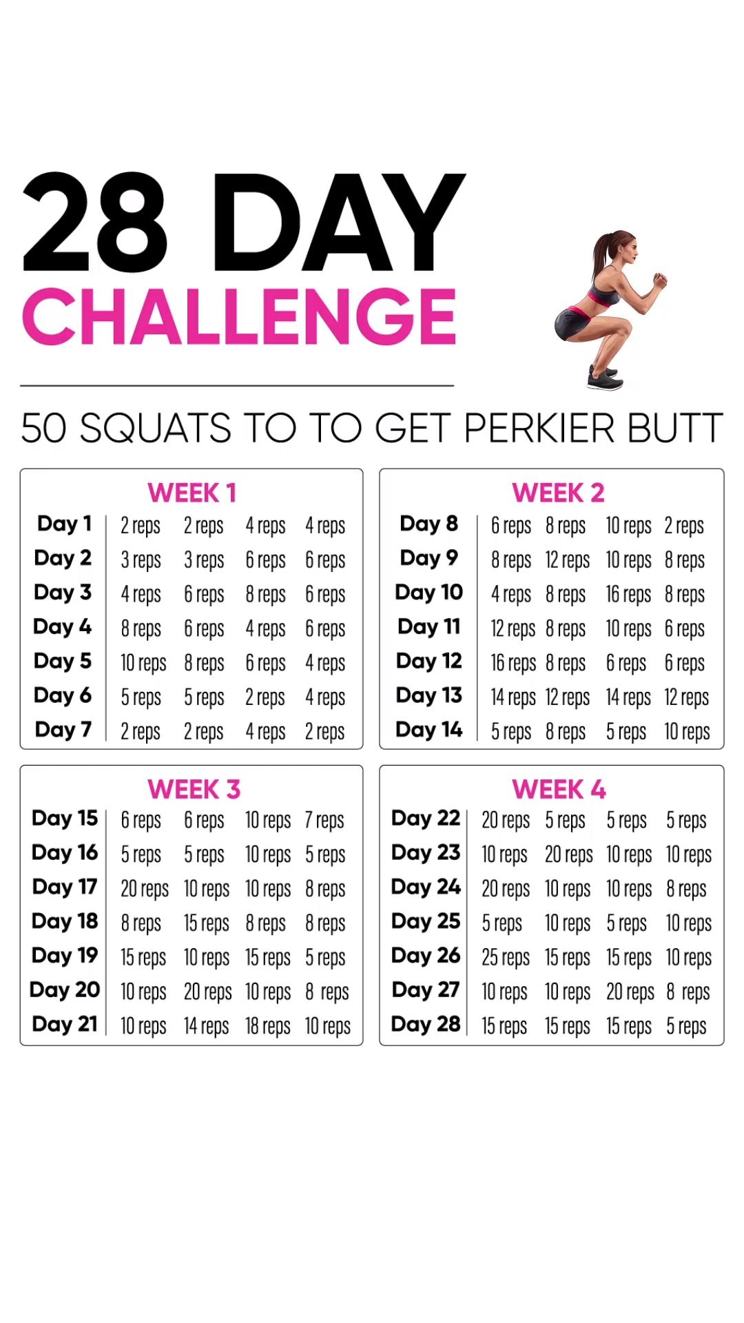 pierdere în greutate 30 de zile squat challenge