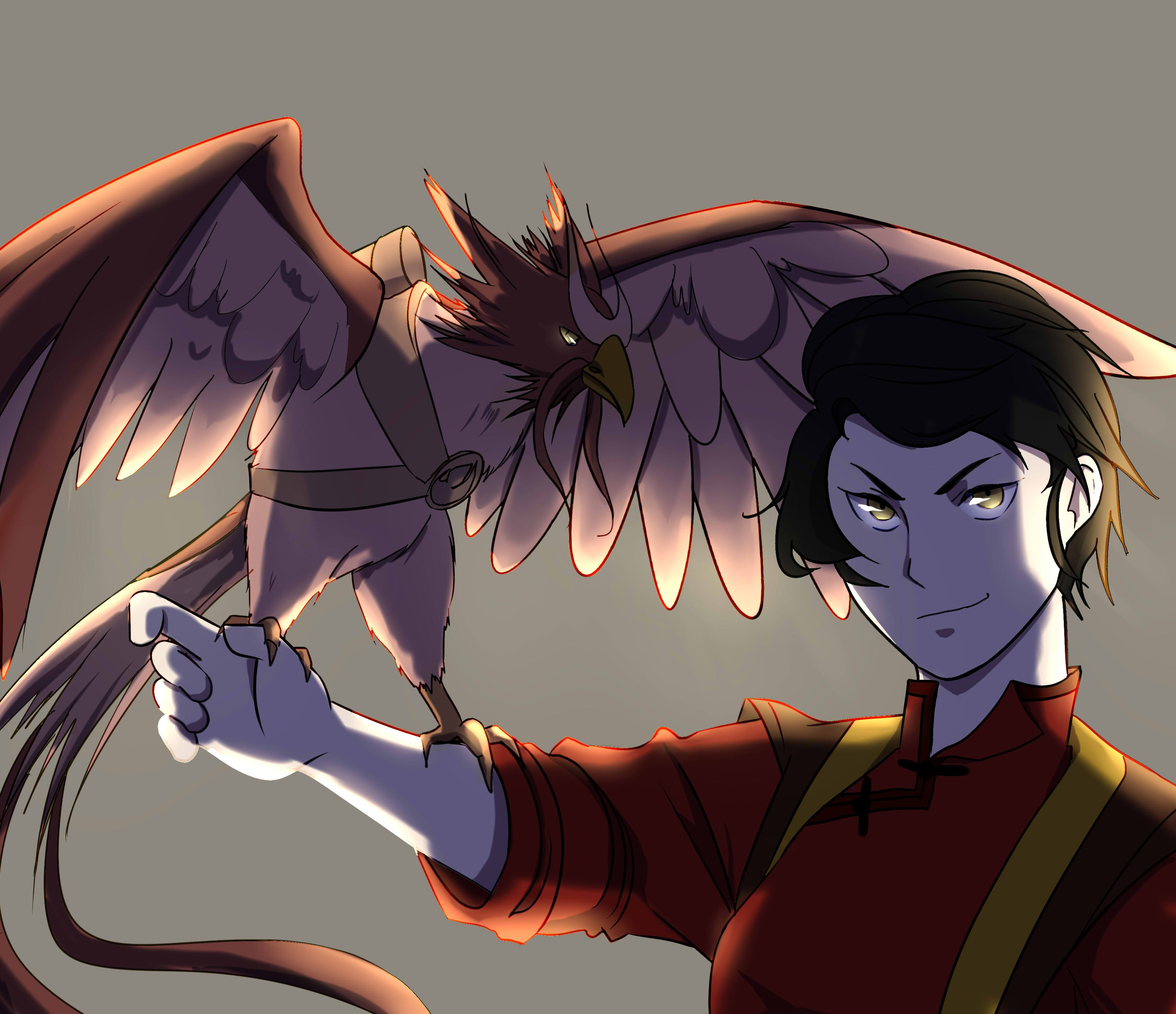 if Zoe in Avatar:the last air bender Air bender, Avatar