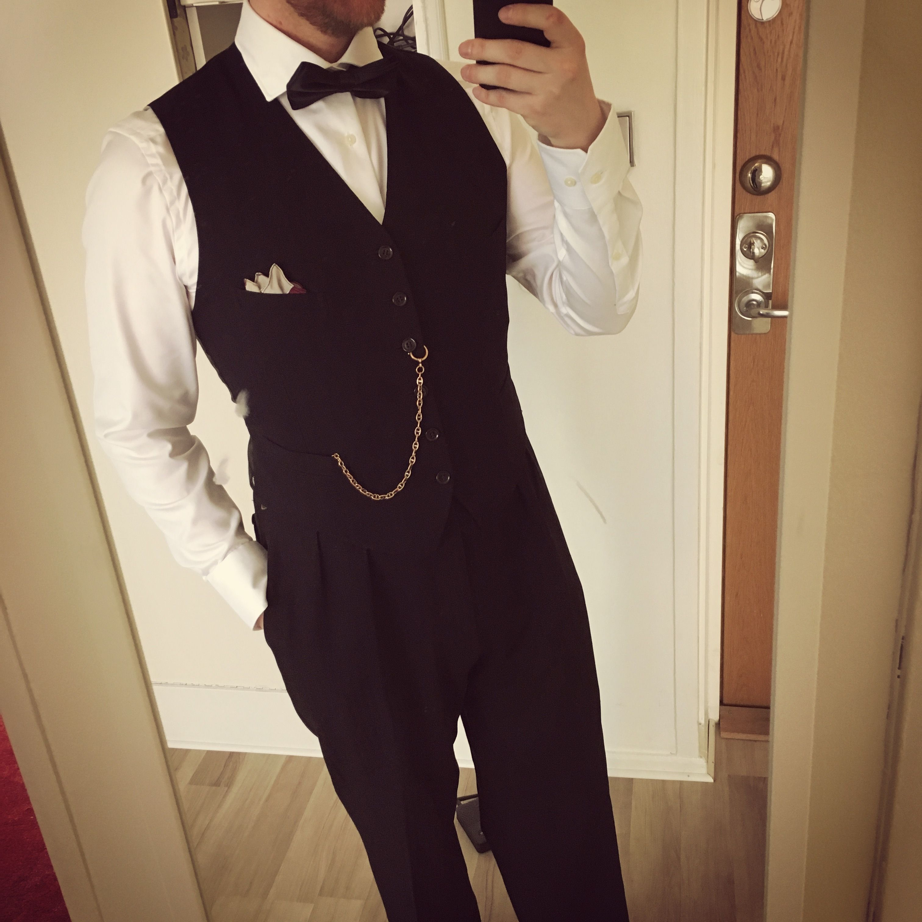 My outfit for a Great Gatsby themed party 2017. With pocket watch and all! & My outfit for a Great Gatsby themed party 2017. With pocket watch ...