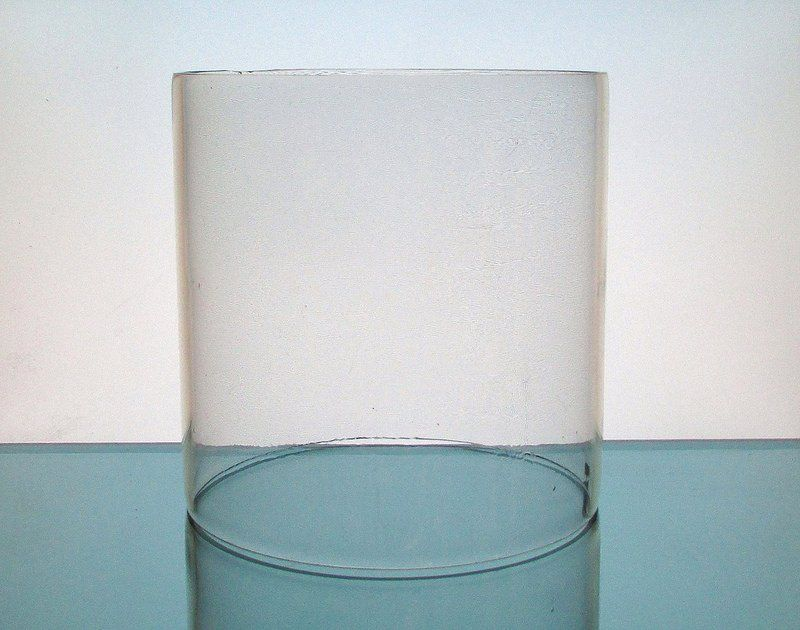 Hurricane Shade Sleeve 7 X 6 8 Xl Cylinder Clear Heavyweight Gl Replacement For Your Candle Holder Or Centerpiece Is