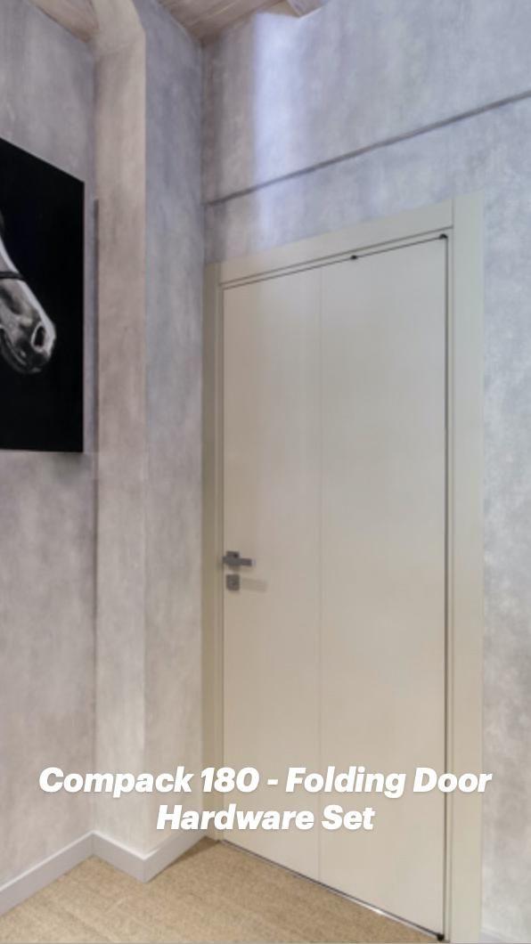 Compack 180 – Folding Door Hardware Set