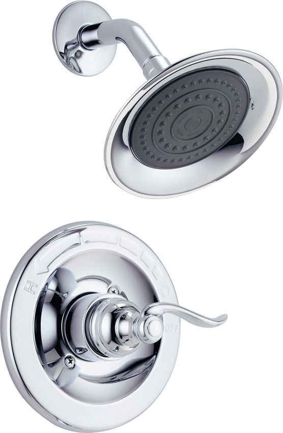 Windemere Shower Faucet Trim With Lever Handles Shower Faucet