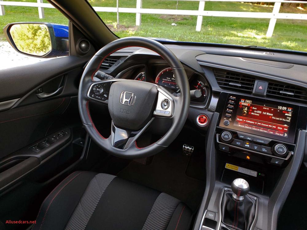 Honda Civic Hp Luxury 2019 Honda Civic Si Sedan Review In 2020 Honda Civic Si Honda Civic New Honda