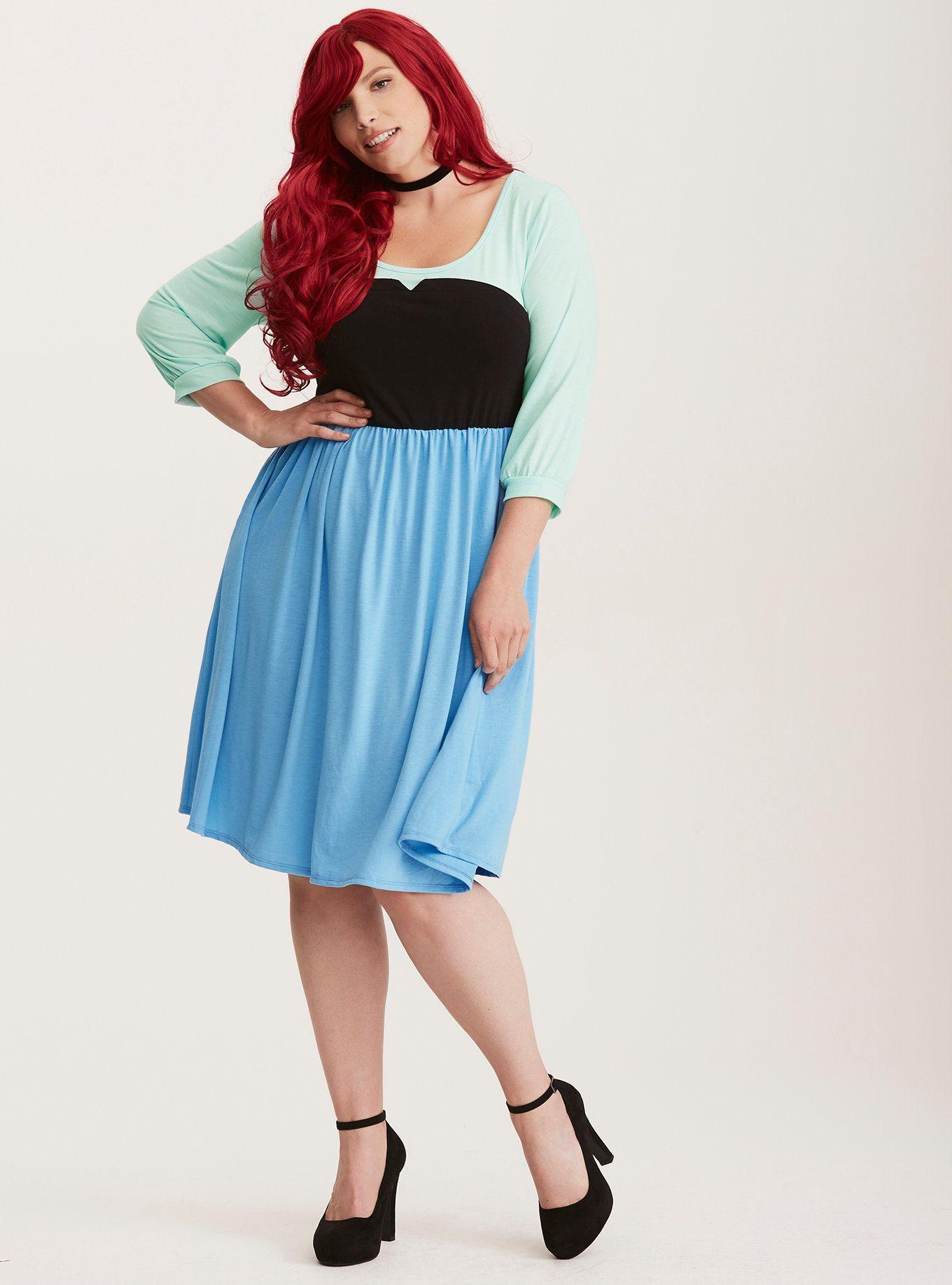 disney ariel skater dress | sweetcent torrid dresses | pinterest