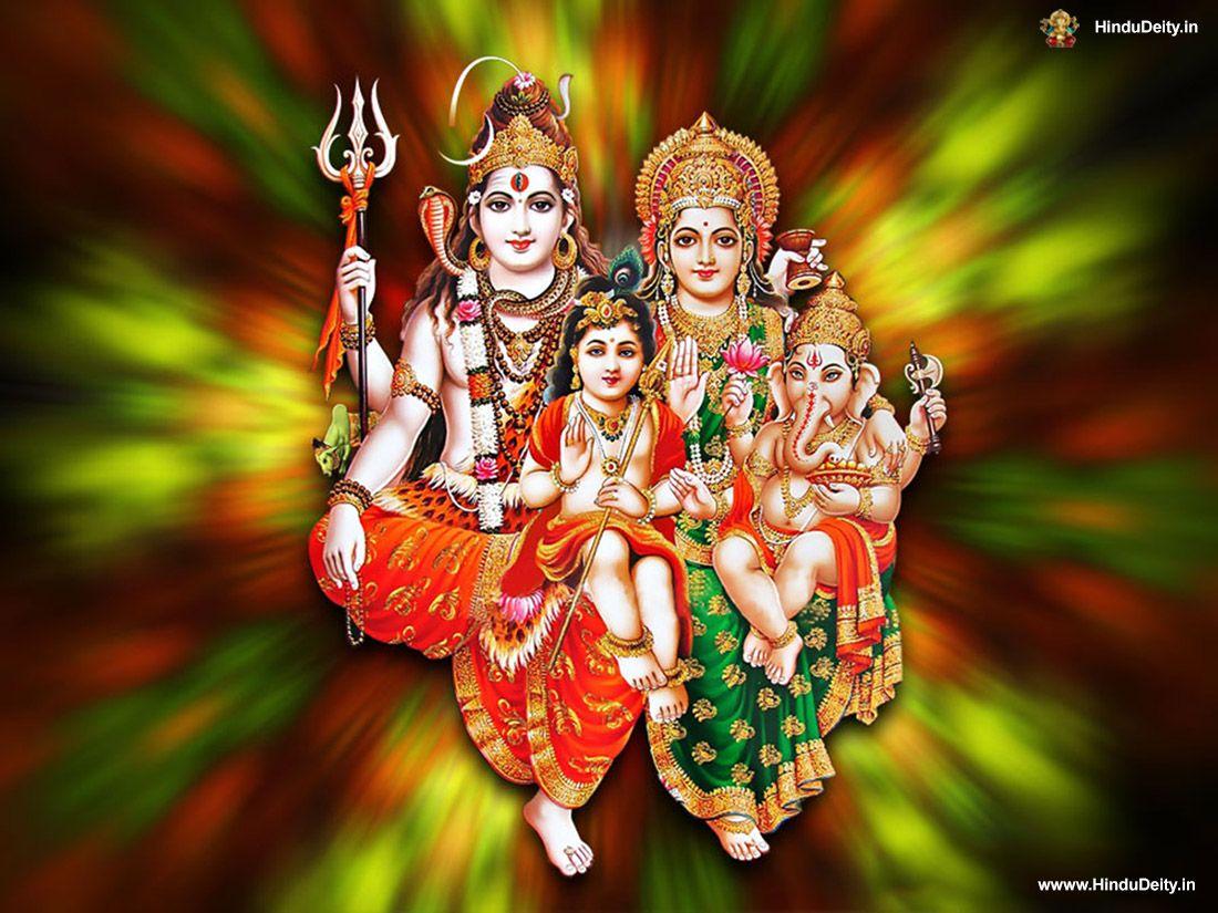 Shiv Parivar Wallpaper Shiv Parivar शव परवर